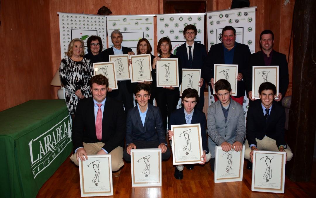 Gala Federación Vasca de Golf 2015