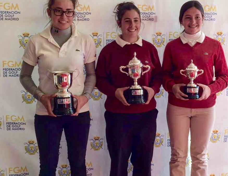Natalia Aseguinolaza subcampeona de Madrid Amateur Femenina 2016