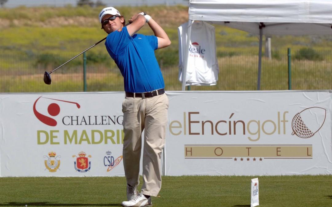 Juan Sarasti e Iñigo Urquizu en el D&B Tour Golf Santander