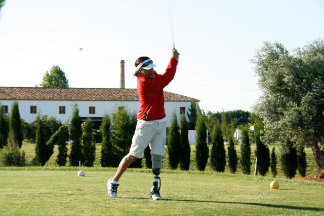 Tres jugadores vascos afrontan este fin de semana el Campeonato y Copa de España de Golf Adaptado