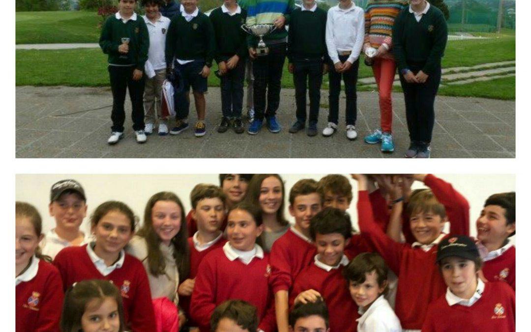 El pasado fin de semana el País Vasco vivió  un festival de golf infantil