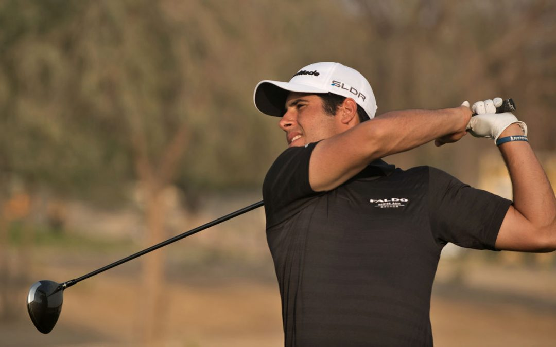 Adrián Otaegui roza el triunfo en el English Championship