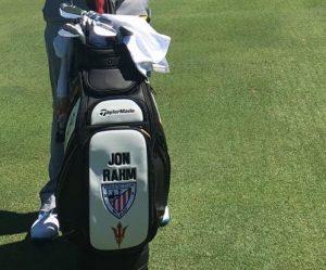 La bolsa de Jon Rahm.