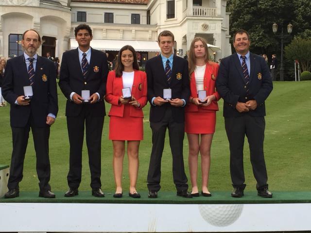 España, con Natalia Aseguinolaza, medalla de plata en el Campeonato de Europa Sub 16