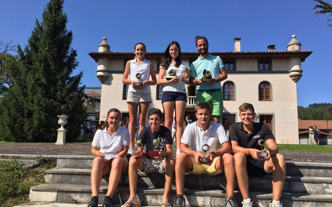 Jaime Ravina y Amaia Ubide campeones del XXX Campeonato Absoluto del País Vasco 2016
