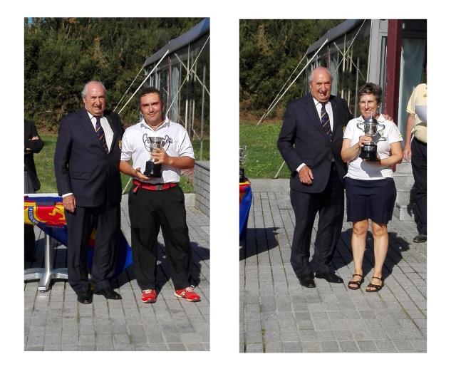 Andoni Latorre se adjudica el título del Campeonato de España Mid Amateur P&P