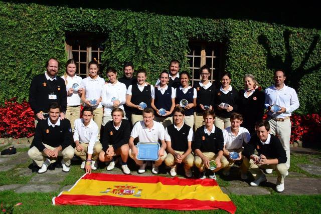 Victoria de España ante Francia en el Match Juvenil celebrado en Jaizkibel con Joseba Torres y Natalia Aseguinolaza