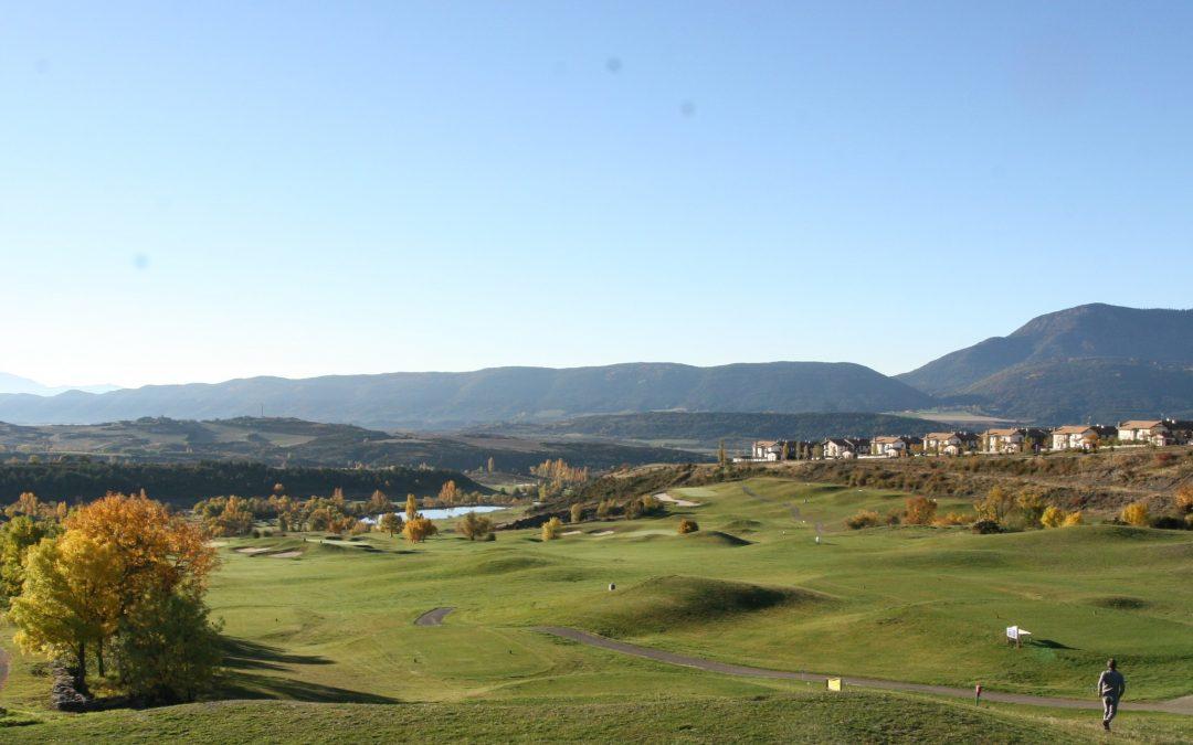 Puertas abiertas en el Club de Golf de Jaca