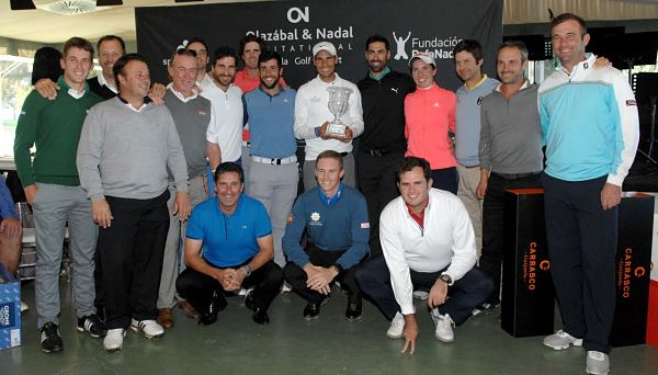 El equipo de Nadal, se impone en la IV edición del Olazábal&Nadal Invitational by Pula Golf Resort
