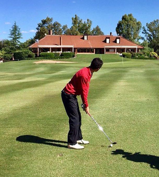 Javier Sainz representa al golf español en los Internacionales de Argentina