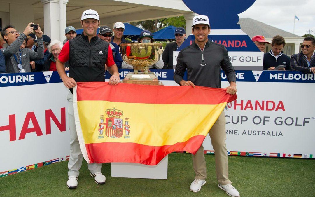 Jon Rahm octavo con España en La Copa del Mundo de Golf