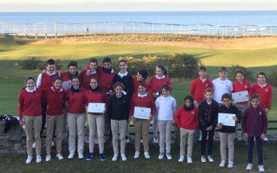 Final del Ranking Juvenil  2016 de la Federación Vasca de Golf