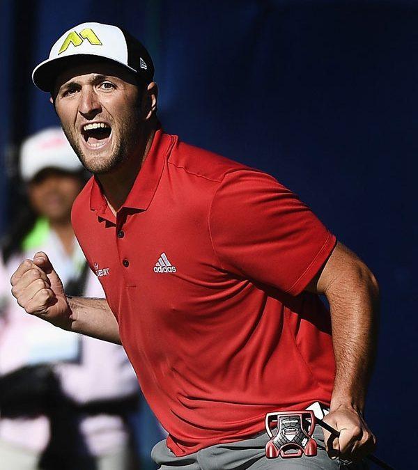 Jon Rahm logra su primera victoria en el PGA Tour con un espectacular final