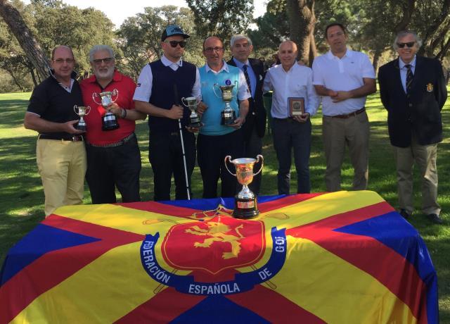 Javier Imaz tercero en la Copa de España de Golf Adaptado
