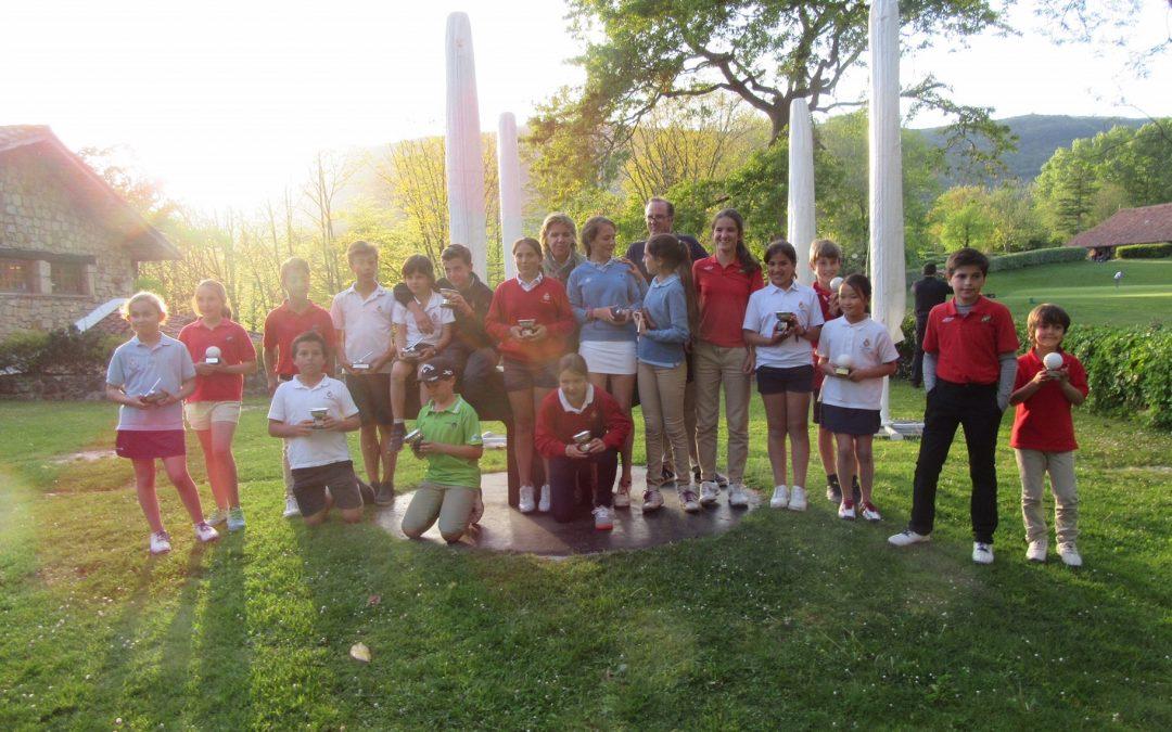 Arruti y Balanzategui (Infantil), Fernandez y Lanchares (Alevín) y Arozena e Iraola (Benjamines) Campeones de Guipuzkoa Infantil