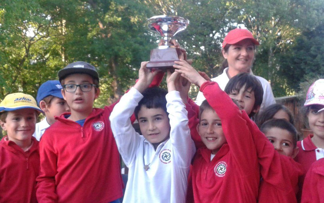 La Salle (Andoain) ganador del Campeonato Interescolar del País Vasco 2017