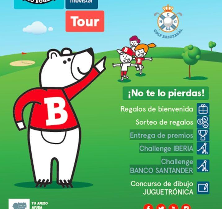 Torneo abierto del Oso Bogey Movistar plus en el RNGCSS Basozabal