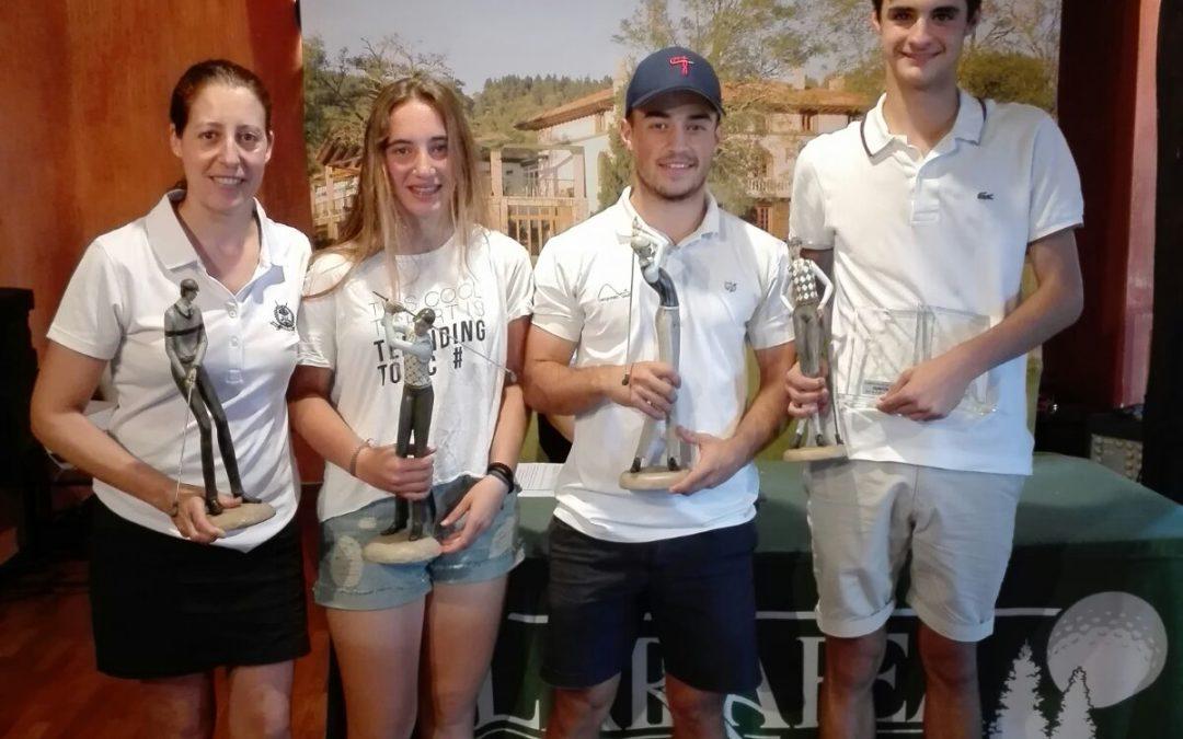 Asier Undabeitia y Aintzane Prieto se adjudican el título del Campeonato Absoluto de Larrabea