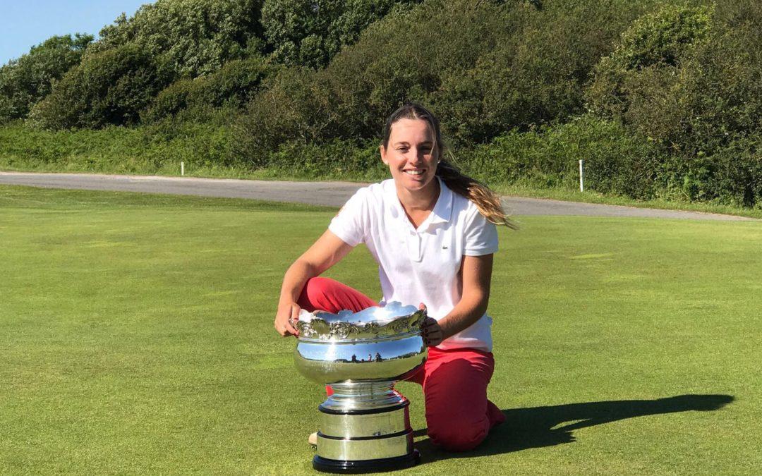 Ainhoa Olarra subcampeona del British Ladies Amateur Championship 2017
