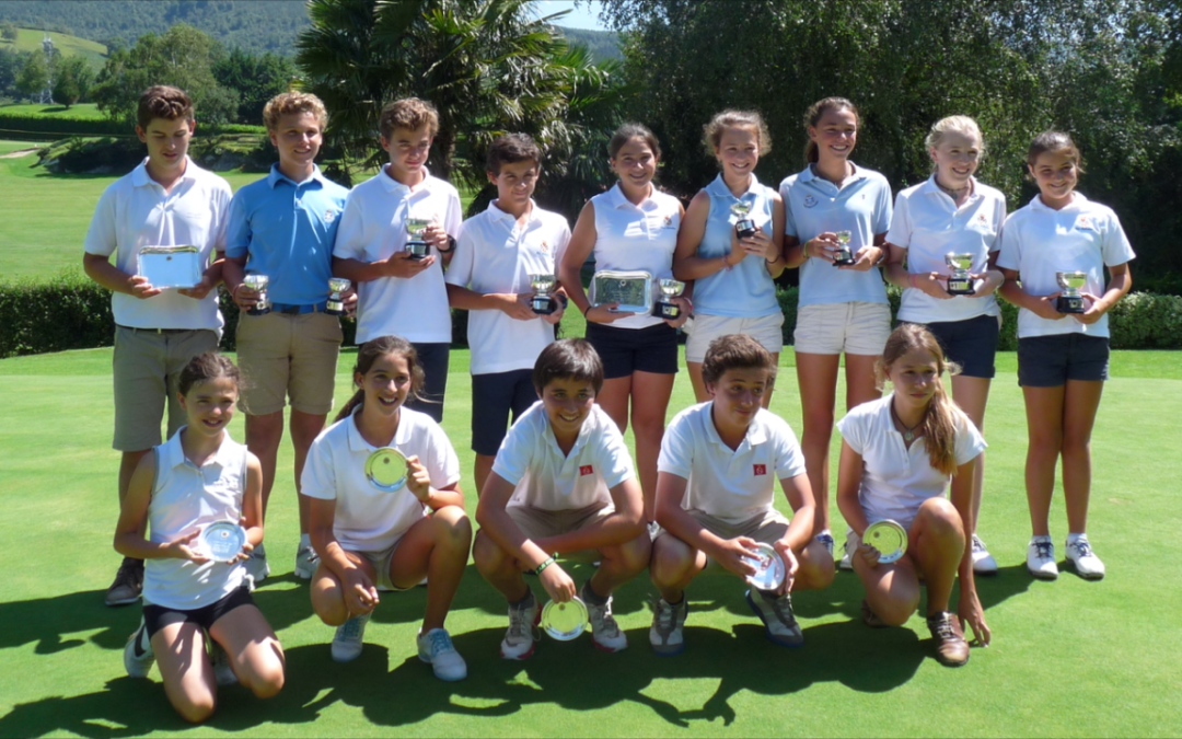 El equipo infantil de Jaizkibel Campeón del País Vasco Interclubs Infantil