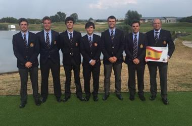 Javier Sainz, integrante del Equipo Nacional, logra la medalla de oro en el Campeonato de Europa Absoluto Masculino