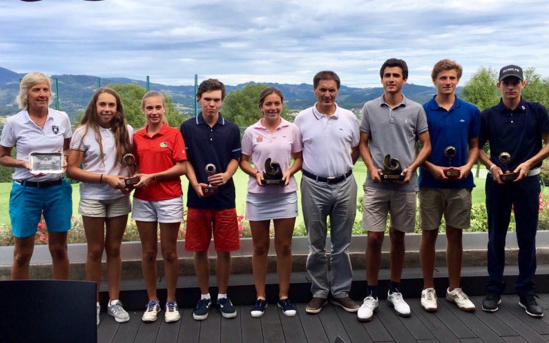 Natalia Aseguinolaza y Javier Sainz campeones del  XXXI Campeonato del País Vasco Absoluto