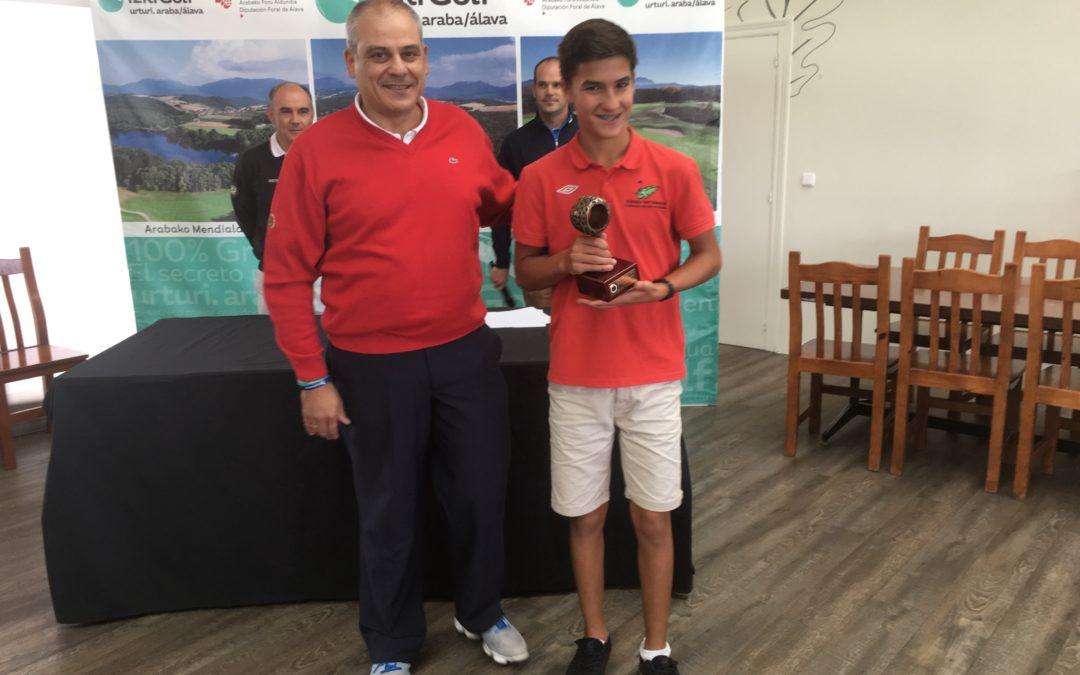 Emiliano Amann Campeon del País Vasco de 3ª categoría