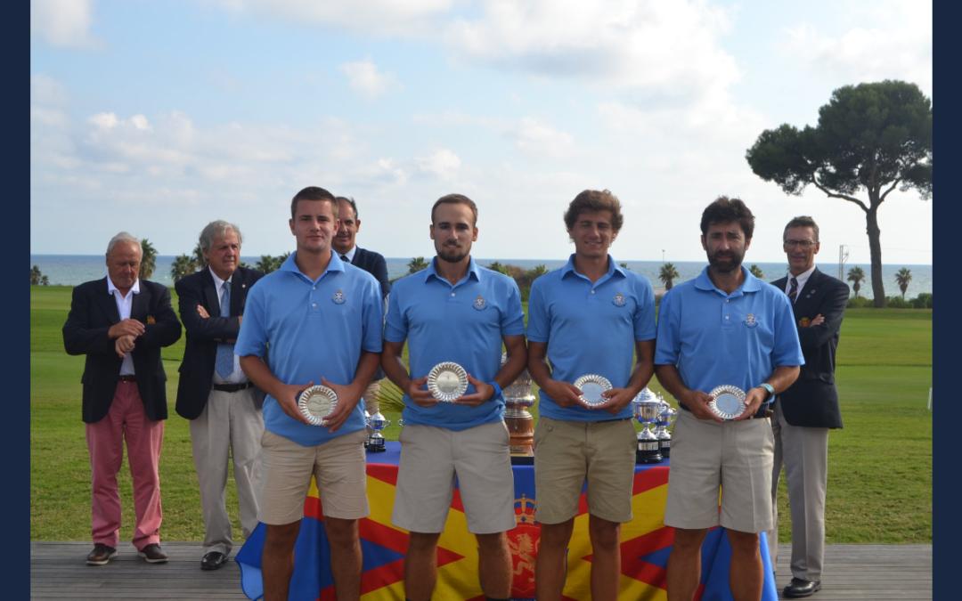 Basozabal tercero en el Campeonato de España Interclubs Masculino