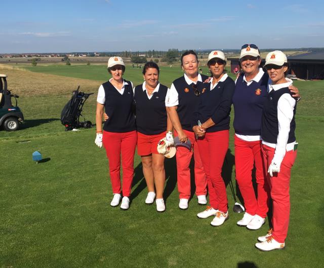 Lourdes Barbeito representante del equipo nacional en el Campeonato de Europa Senior por equipos Femenino