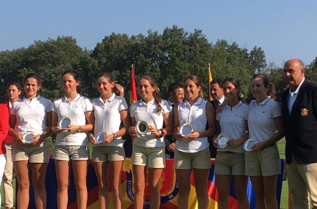 El equipo vasco subcampeon del Interautonomico Sub-18 Femenino