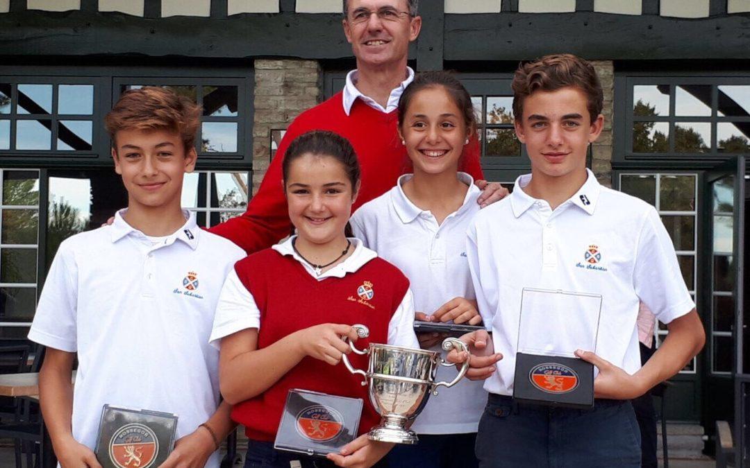 El equipo infantil de Jaizkibel Campeón del Tropheé Alfred Elure