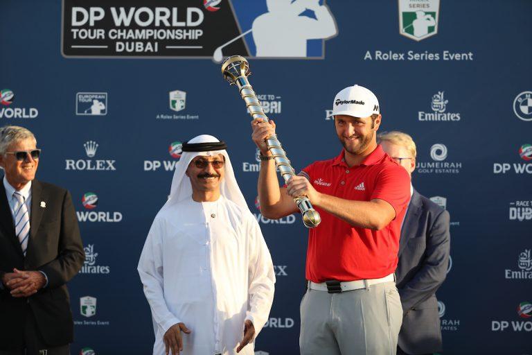 Jon Rahm campeón del torneo final de la Race to Dubai