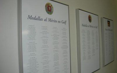 Javier Sainz, Jaime Salaverri y Rafael Nebreda Medallas de Oro al Mérito en Golf