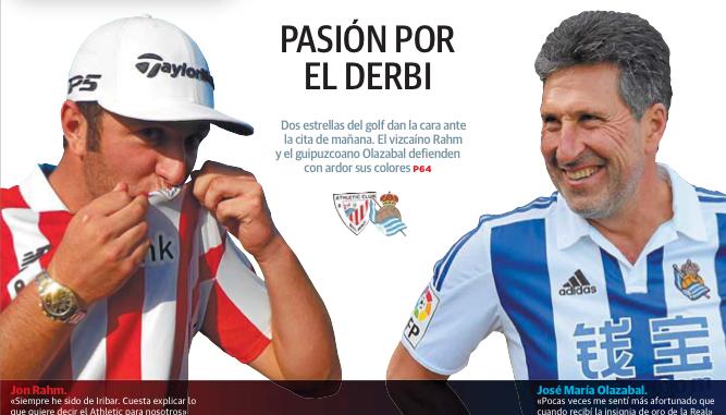 Portada del El Correo y El Diario Vasco