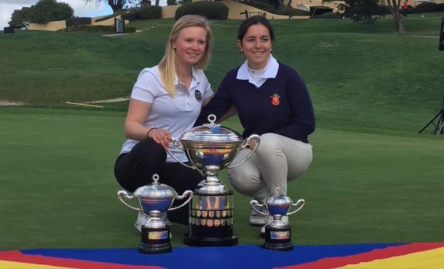 """Natalia Aseguinolaza subcampeona del Internacional de España Amateur """"Copa SSMM La Reina"""" 2018"""