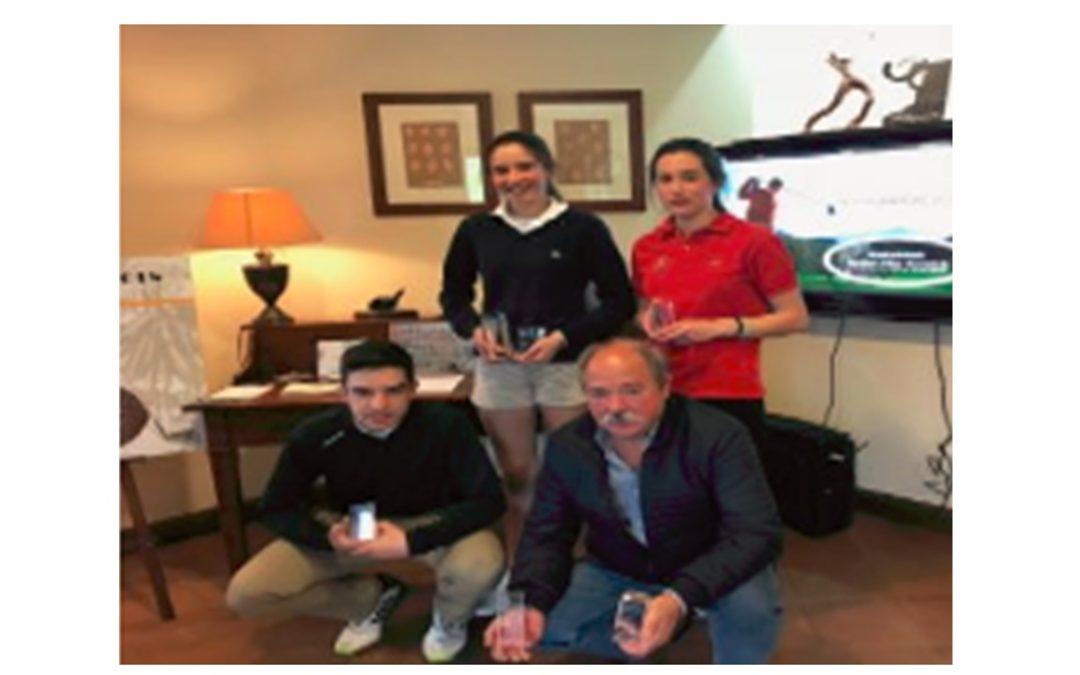 José Adrián Arriaga y Oihana Etxezarreta Campeones de Goiburu Absolutos