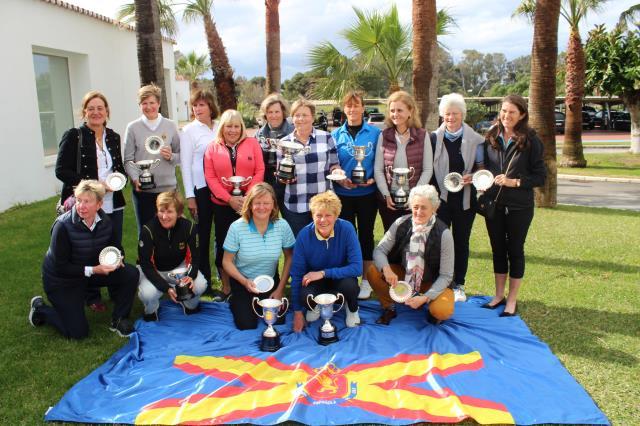 Lourdes Barbeito finaliza entre las quince mejores el Campeonato Internacional de España Senior Femenino