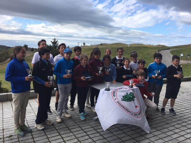 Jauregui/Gorostiaga (Infantiles), Lizarazu/Iraola (Alevines) y Dearden/Iraola (Benjamines) – Campeones de Vizcaya Infantil