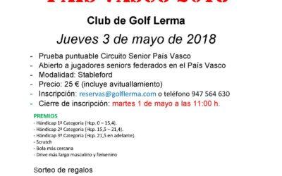 Abiertas las inscripciones para la III Prueba Circuito Senior 2018