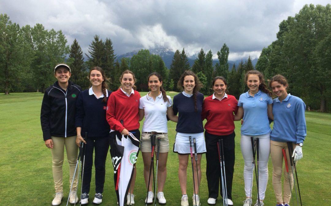 Olarra y Palacios entre las diez mejores del Campeonato de España Amateur Femenino