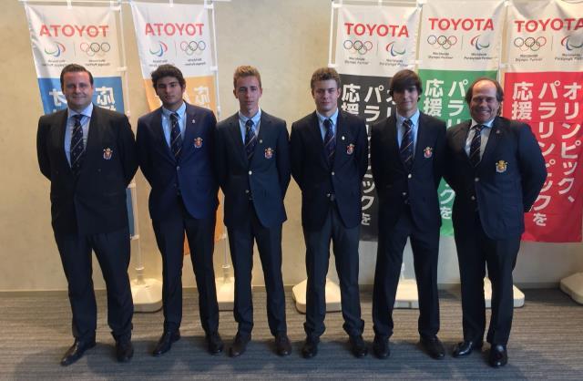 El Equipo Nacional capitaneado por Ion Ander Corral, subcampeón del Mundo Junior por Equipos