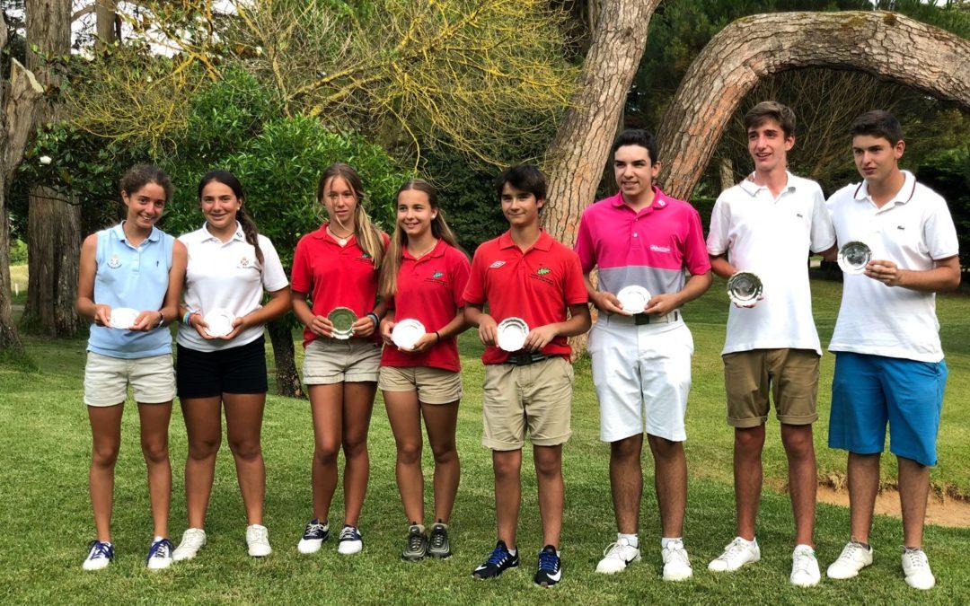 M. Olasagasti, P. Sabin, J. Llantada y A. Aizpurua ganadores del II Puntuable Zonal Juvenil