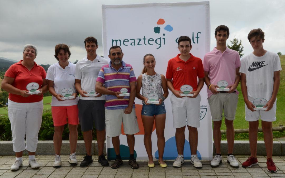 Markel Olasagasti y Monika Vallejo Campeones de Meaztegi Absoluto
