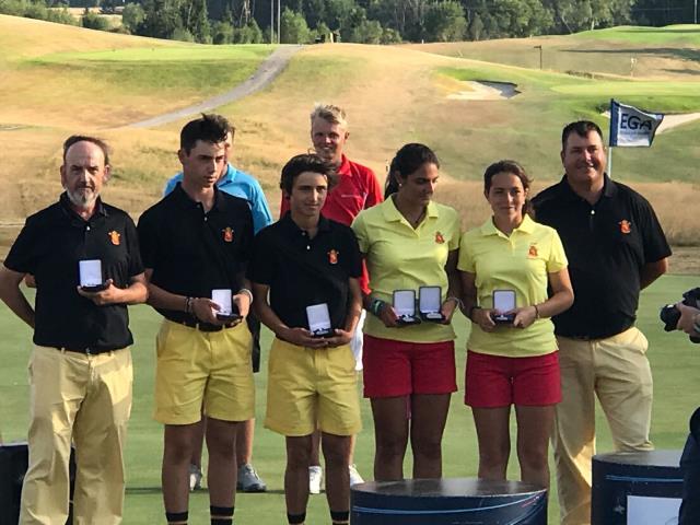Natalia Aseguinolaza medalla de plata en el European Young Masters – Campeonato de Europa Sub-16