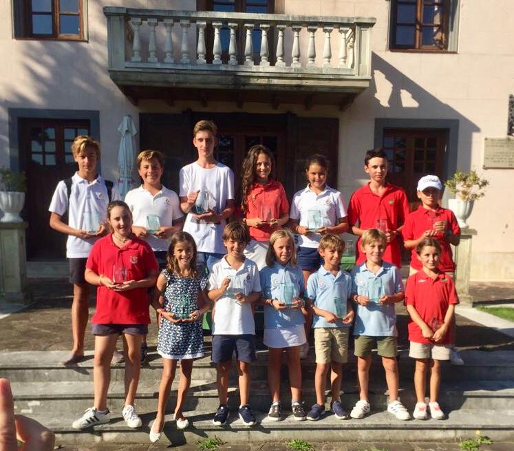 Lizarazu/Lopez-Lanchares (Infantiles), Carril/Gorostiaga (Alevines) e Yrizar/Lerma los mejores en el Campeonato de Larrabea Infantil
