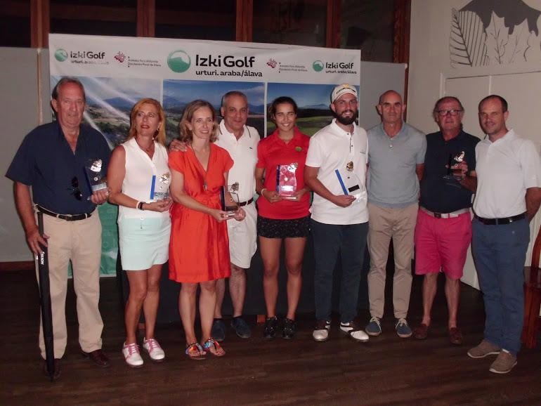 Pablo Alonso e Irantzu Marquinez ganadores de la Gran Final Vasca del Circuito de 5ª Categoría – Previa a la Gran Final Nacional RFEG