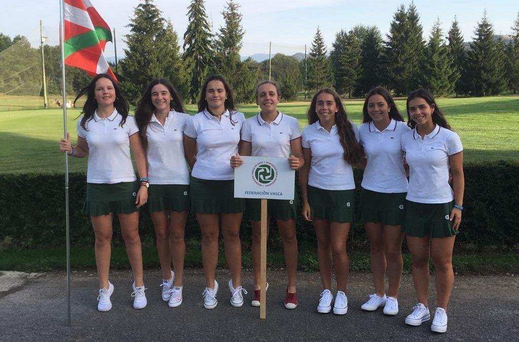 El equipo del País Vasco, se clasifica en tercera posición en el Campeonato Interautonómico Girl de 1ª división