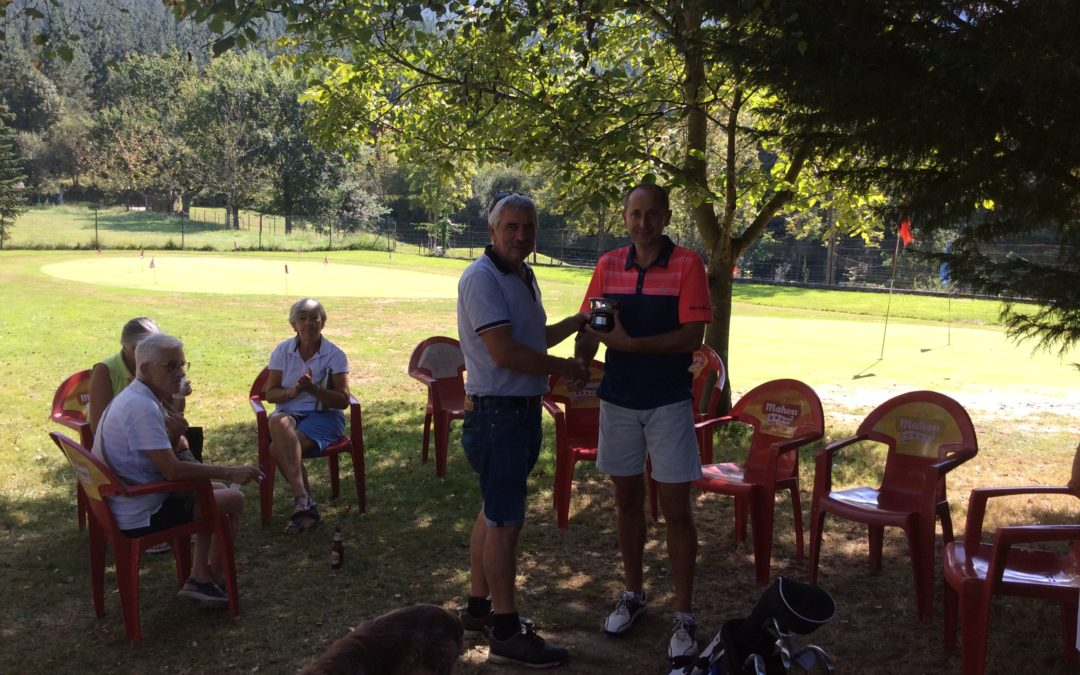 Victoria de Roberto Arriaran en el Campeonato Absoluto de Gipuzkoa P&P