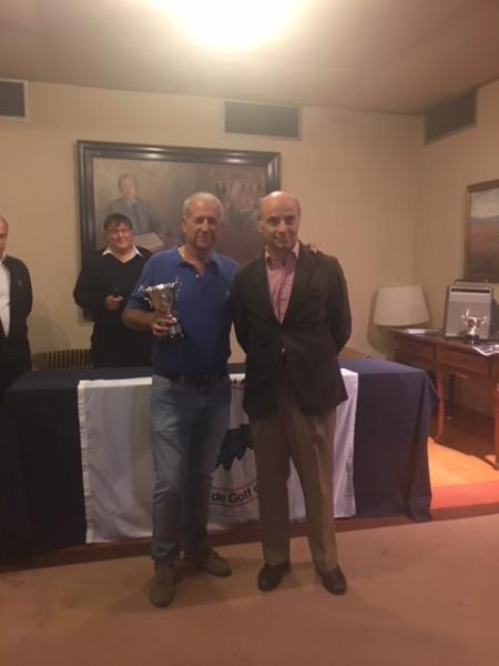Victorias de Mónica Saracho y José Manuel Martín en el Campeonato Senior de Vizcaya