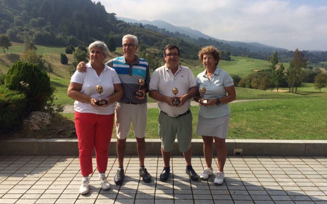 Victorias de Amaya Chavarri y Fernando Calleja en el Campeonato País Vasco 3ª y 4ª categoría